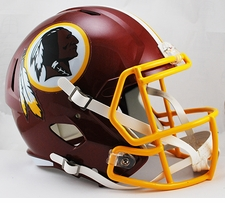 Washington Redskins Full-Size Deluxe Replica Speed Helmet
