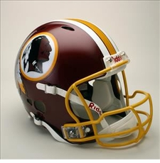 Washington Redskins Full Size Riddell Revolution NFL Helmet