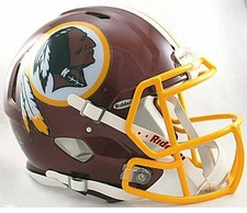 Washington Redskins Revolution Speed Riddell Authentic Helmet