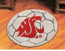 "Washington State Cougars 27"" Soccer Ball Floor Mat"