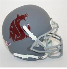 Washington State Cougars Gray Schutt Authentic Mini Helmet