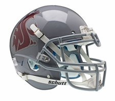 Washington State Cougars Gray Schutt XP Full Size Replica Helmet