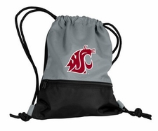 Washington State Cougars Gray String Pack / Backpack
