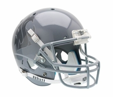 Washington State Cougars Gray w/ Gray WSU Schutt XP Full Size Replica Helmet