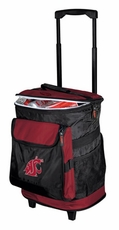 Washington State Cougars Rolling Cooler