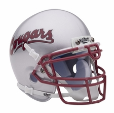 Washington State Cougars Silver Schutt Authentic Mini Helmet