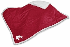 Washington State Cougars Sherpa Throw Blanket
