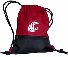 Washington State Cougars String Pack / Backpack