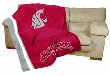 Washington State Cougars UltraSoft Blanket