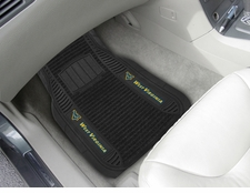 West Virginia Mountaineers 2-Piece Deluxe Car Mats
