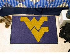 "West Virginia Mountaineers 20""x30"" Starter Floor Mat"