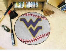 "West Virginia Mountaineers 27"" Baseball Floor Mat"