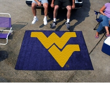 West Virginia Mountaineers 5'x6' Tailgater Floor Mat