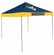 West Virginia Mountaineers Economy 2-Logo Logo Canopy Tailgate Tent