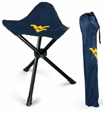 West Virginia Mountaineers Folding Stool