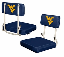 West Virginia Mountaineers Hard Back Stadium Seat