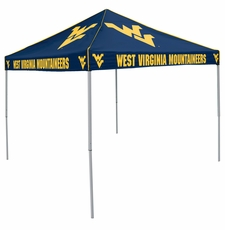 West Virginia Mountaineers Navy Logo Canopy Tailgate Tent