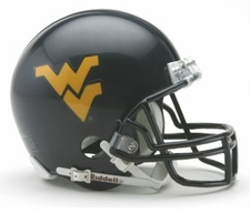 West Virginia Mountaineers Riddell Replica Mini Helmet