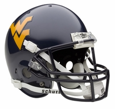 West Virginia Mountaineers Schutt Full Size Replica Helmet