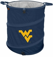 West Virginia Mountaineers Tailgate Trash Can / Cooler / Laundry Hamper