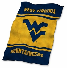West Virginia Mountaineers Ultrasoft Blanket