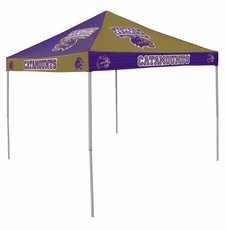 Western Carolina Catamounts Checkerboard Logo Canopy Tailgate Tent
