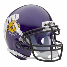 Western Illinois Leathernecks Schutt Authentic Mini Helmet