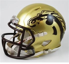 Western Michigan Broncos Riddell Speed Mini Helmet