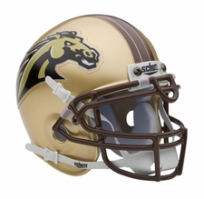 Western Michigan Broncos Schutt Authentic Mini Helmet