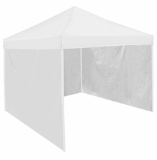 White Tent Side Panel for Logo Canopy Tailgate Tents