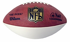 Wilson 1-White Panel NFL Football