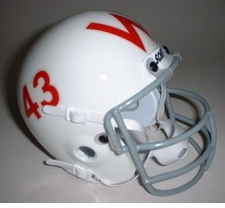 Wisconsin Badgers 1961 Schutt Throwback Mini Helmet