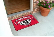 "Wisconsin Badgers 20""x30"" Bucky Starter Floor Mat"