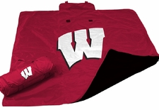 Wisconsin Badgers All Weather Blanket