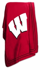Wisconsin Badgers Classic Fleece Blanket