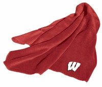 Wisconsin Badgers Fleece Throw