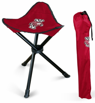 Wisconsin Badgers Folding Stool