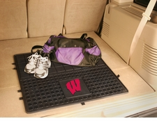 Wisconsin Badgers Heavy Duty Vinyl Cargo Mat