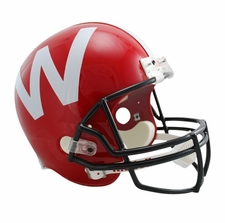 Wisconsin Badgers Red Riddell Deluxe Replica Helmet