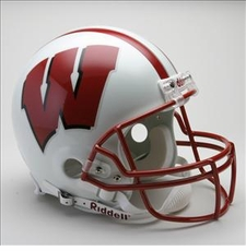 Wisconsin Badgers Riddell Pro Line Authentic Helmet