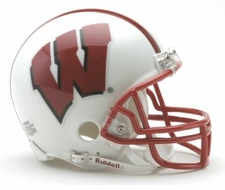 Wisconsin Badgers Riddell Replica Mini Helmet