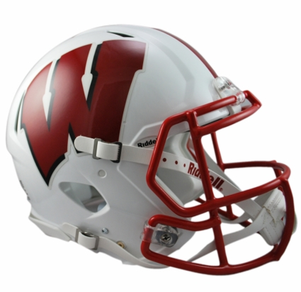Wisconsin Badgers Riddell Revolution Speed Authentic Helmet