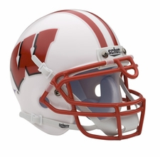 Wisconsin Badgers Schutt Authentic Mini Helmet