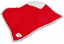 Wisconsin Badgers Sherpa Blanket