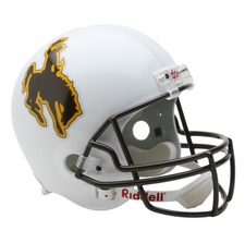 Wyoming Cowboys  Riddell Deluxe Replica Helmet