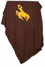 Wyoming Cowboys Sweatshirt Blanket