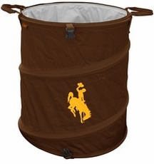 Wyoming Cowboys Tailgate Trash Can / Cooler / Laundry Hamper