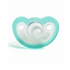 JollyPop Pacifier Soothie Newborn Natural Scent Teal