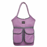 7 A.M. Enfant Barcelona Diaper Bag Pink