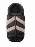 7 A.M. Enfant Blanket 212 Chevron Black/Beige